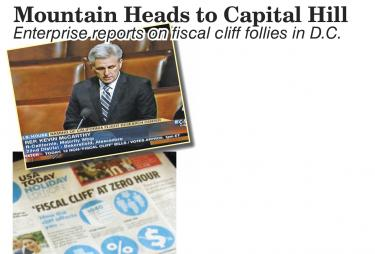 Mountain Heads to Capitol Hill