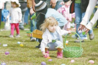 The Frazier Mountain Park Easter Egg Hunt is an exciting event.