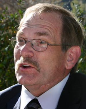 Candidate for Kern County Fourth Supervisor District Cliff Thompson says he'll 'outwork Watson.'