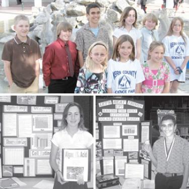 Makin' Us Proud: Four Young Scientists Place First at County Science Fair