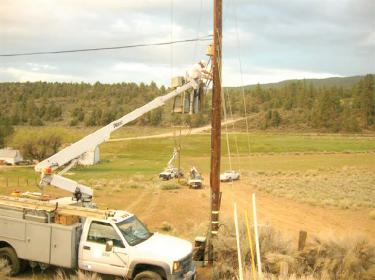 Cuddy Valley Phone Service Cut Off by Cable Thieves