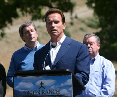 Tejon Ranch Company, Environmental Groups and Governor Announce Deal for Tejon Ranch State Park