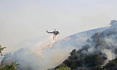 Lebec Grass Fire Burns 100 Acres