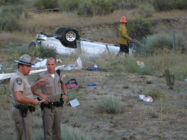 Single Car Rollover South of Gorman Leaves One Dead