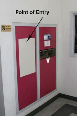 Burglars Hit Lebec Post Office