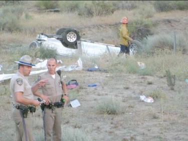 Child Killed in I-5 Crash Near Gorman