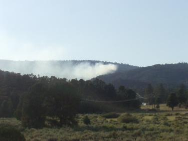 Fire Breaks Out on East end of Mt. Pinos