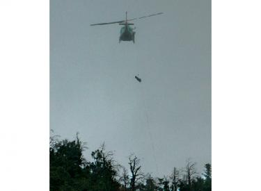Dramatic Air Rescue Above Frazier Park