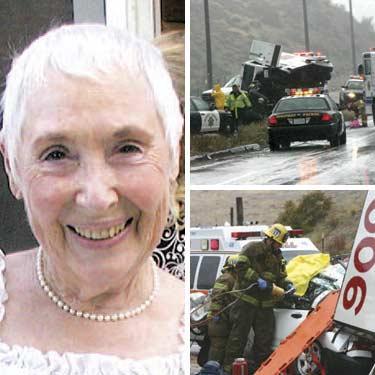 Massive Crash Leaves Gigi Day Struggling for Life