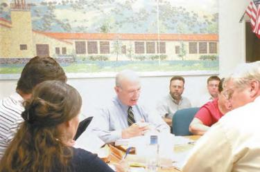 Dry Wells, Student Safety Issues Raised to Trustees