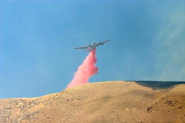 Fire Reported at Lebec Oaks Road