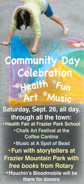 Festival of Books and Health Fair Bind 'Community Day' Stroll to Family Fun