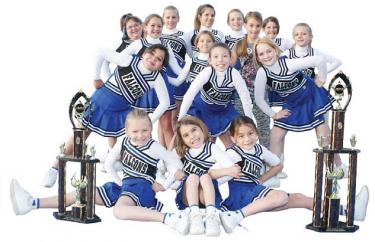 Surprise Win Puts Cheer Team in National Contest