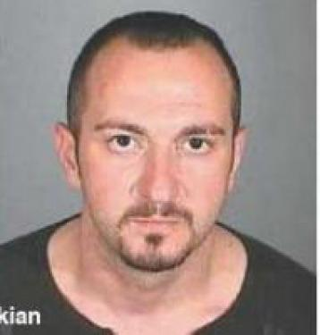 Above: Artak Martikian. September 2010 update: Charges against Arman Martikian have been dropped by Bakersfield Police Department. Detective Steve Miller told reporters for The Mountain Enterprise that Artak used a car registered to Arman Martikian, causing his brother to be implicated in the investigation.