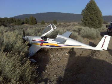Experimental Aircraft Crashes in Lockwood Valley