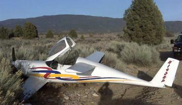 Aircraft Crashes In Lockwood Valley