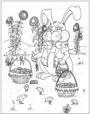 Fun News: Easter Coloring Contest Continues