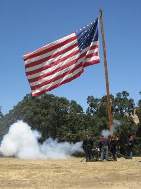 Experience a Fourth of July at Fort Tejon
