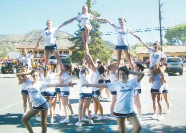 Cheer Team Scrubbing Cars for Dollars this Saturday, 10 a.m.-3 p.m.