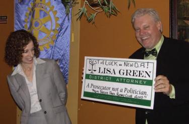 'Don't Legalize Marijuana' D.A.-Elect Green Tells Voters