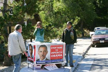 LaRouche PAC Solicits Members in Frazier Park