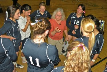 Falcons Take High Desert League Volleyball Championship