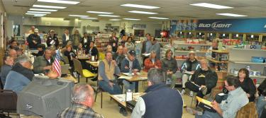An estimated 55 people came to the WeeVill Market Thursday, Jan. 20 for a meeting called by the newly formed Fairmont Town Council in the Western Antelope Valley. Two renewable energy wholesalers made their pitch to recruit community support. Both said they intend to complete full environmental impact reviews.