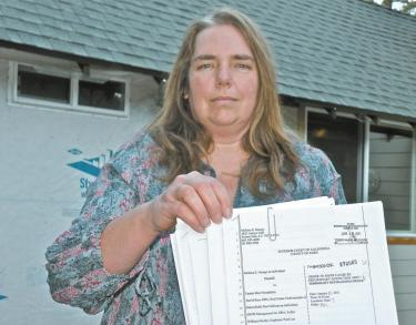 Frazier Park Woman Tells Bank: 'Show Me the Deed'