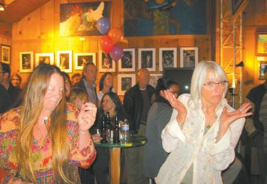 Kate Donahue's Big 5-Ohhhh party Saturday, Feb. 5 at the Work of HeART Gallery.