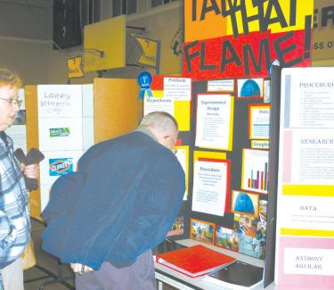 Science Fair Sizzles with Hot Questions