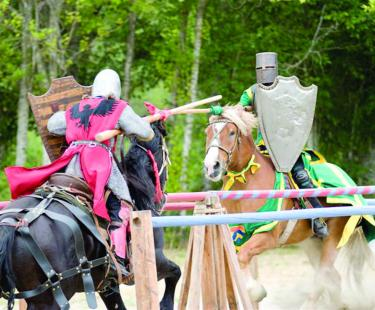 Frazier Mountain Spring Jousting Tournament and Fair