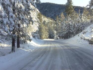 Interstate 5 Open over Grapevine--Mt. Pinos Open for Snowplay