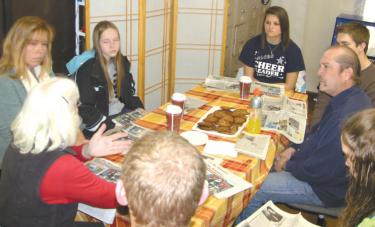 Local Students Meet with Civil Rights Veteran Fran O'Brien