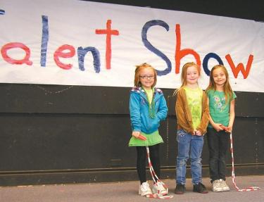 Talent Show At Gorman School--See Slide Show
