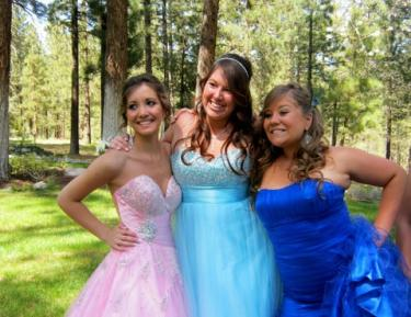 Despite worries about selling enough tickets this year, Danielle Culver, Alex McCue and Charlie Pivetti agree the Frazier Mountain High School Prom turned out to be a smashing