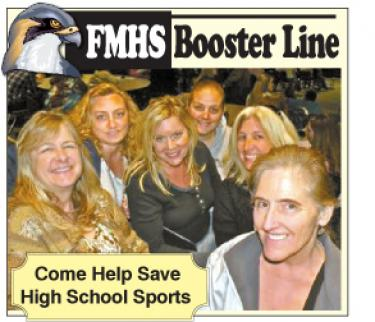 Above (l-r) Current Booster Club Board Members Lori Hallmark,Thelma Stephenson, Barbie Stowell, Angelic Ager, Lisa Johnson and Booster Club President Kathy Parker hope to see members of the community come out on Tuesday, May 31 to elect a new board and to start planning fundraising to save high school sports.