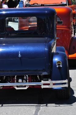 Kody Hughes of Los Padres Estates in Lebec took this shot, and is hoping to help corral another classic car show for Fiesta Days in August.