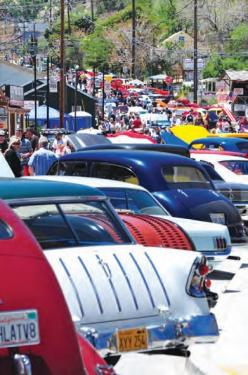 Ridge Route Run Car Show Brings Hundreds of Visitors
