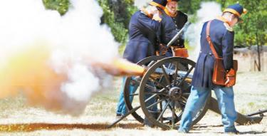 Don't Miss the Roar of 4th of July Cannons at Fort Tejon