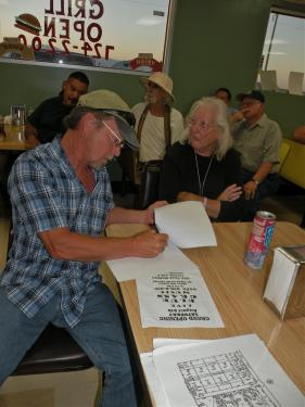 Residents signed the letter along with members of the council. It asks for an emergency meeting with the Los Angeles County Regional Planning Commission to protest about the First Solar AV Solar Ranch One.