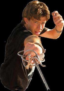 Romeo and Juliet is being presented by Director Peter Kjenaas and the Mountain Shakespeare Festival with 19 local youth and seasoned adult actors. Uniquely, the leads are played by teenagers close to the ages of the characters in the play. Above, Colton Fair plays Tybalt.