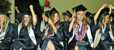 GRADUATION (see video) High School Seniors Receive Diplomas