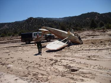 Plane Crashes in Lockwood Valley