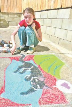 Le Coffee Cantina Hosts 11th Annual Street Painting Festival