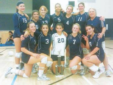 League Volleyball Championship Falls To FMHS