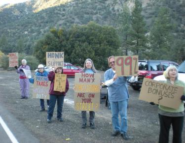Local 'Occupy' Grows...Slightly