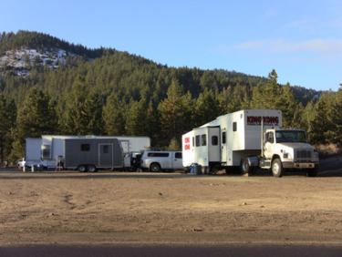 Production News: Television Commercial Shooting in Cuddy Valley