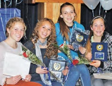 Winter Sports Awards Given
