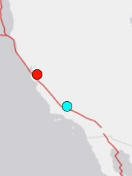 This little map generated by the U.S. Geological Survey shows the 3.8M earthquake that hit our area at 9:47 a.m. Monday, April 16. It was followed at 9:49 a.m. by a 3.9M quake just up the road at Alum Rock, CA. Double click on image to increase the size. Also see advice to families to prepare for earthquakes on this website (below) and a hot link to sign up for ReadyKern, to receive emergency notifications on your cell and home phones.