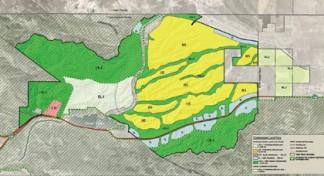 Antelope Valley Area Plan map for Centennial